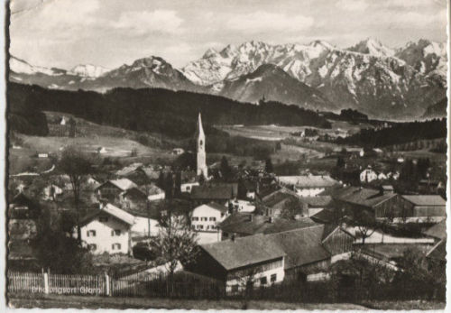 Blick vom Hochfeld