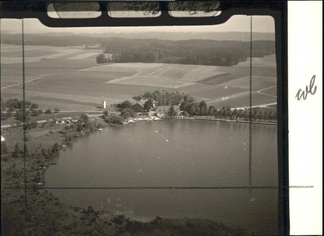 Luftbild Kastensee vor 1971