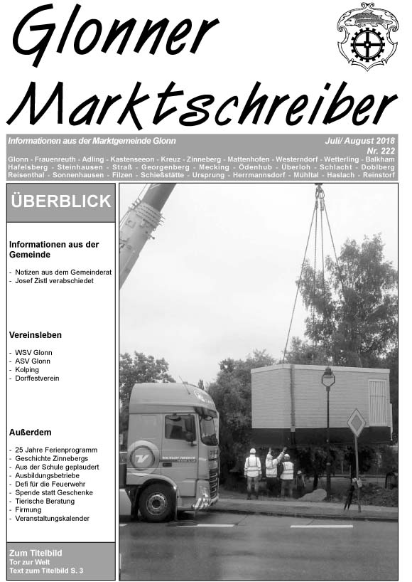 Marktschreiber aktuell