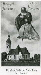 uBn12-08 Anth  Kirche m Hl Jak