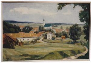 Gl480-44 v FeldkStr Gemälde (Large)