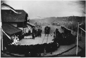 k-GM212-04 Bahnhofseröffnung 1894
