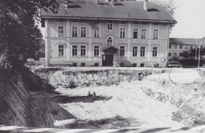 k-GM842-16 Klosterschule u Baugrube