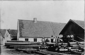 k-GN222-16 Grieslmühle vor 1914