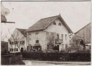 k-GO034-04 Sattlerhof uralt v hi vor 1900