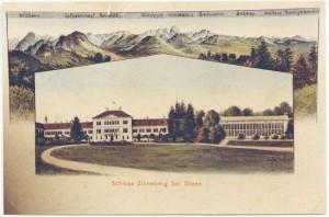 k-uZi04-32 Zinn v Schlosspark 1917