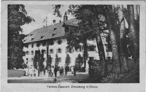 k-uZi32-08 Zinn Vereinslazarett